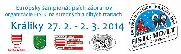 POZOR ZMENA!!! Európsky šampionát psích záprahov FISTC MD/LT Banská Bystrica – Králiky presunutý na 20. 3. – 23. 3. 2014