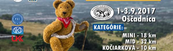 Kysucký dogtrekking u Medveďa 2017
