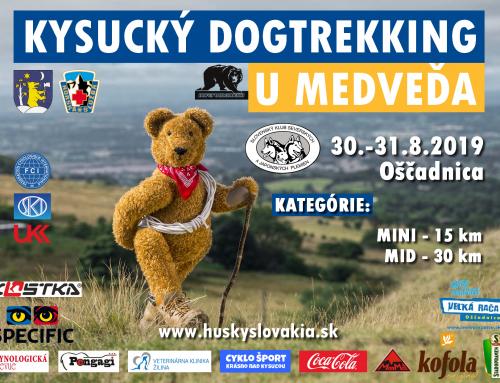 Kysucký dogtrekking u Medveďa 30.8-31.8.2019